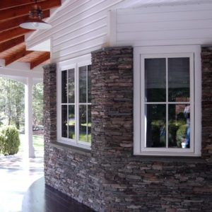 ledge cut house siding