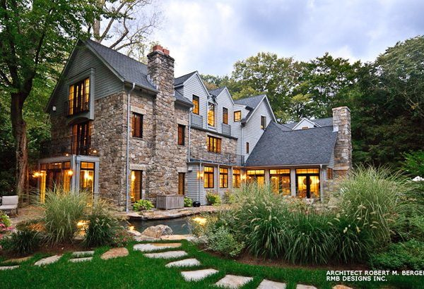 CT Weathered Fieldstone home
