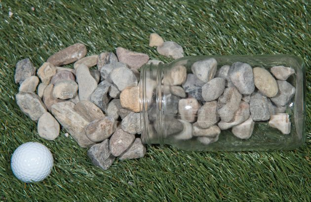 RIVER JACKS 1″ TAN STONE AGGREGATE