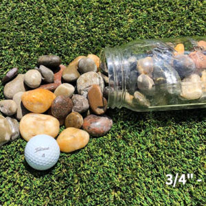 Mixed Polished 3/4 - 1-1/4 inch stone aggregate
