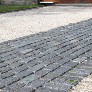 Cobblestones and Curbing